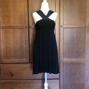 Black summer dress